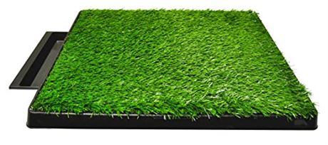 Downtown Pet Supply Dog Pee Potty Pad, Bathroom Tinkle Artificial Grass Turf, P