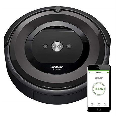 iRobot Roomba E5 (5150) Robot Vacuum - Wi-Fi Connected, Works with Alexa, Ideal