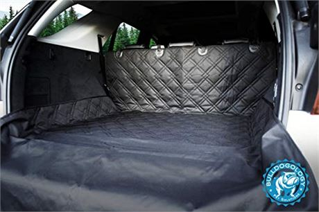 Bulldogology Premium SUV Cargo Liner Seat Cover for Dogs - Heavy Duty, Waterpro