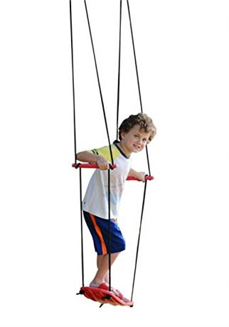 Swurfer Kick Stand Up Outdoor Surfing Tree Swing Kids Up to 150 Lbs - Hang from