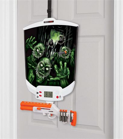 Rec-Tek Over The Door Zombie Hunting Game with LCD Scoring for Kids - Features