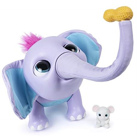 Wildluvs Juno My Baby Elephant with Interactive Moving Trunk & Over 150 Sounds
