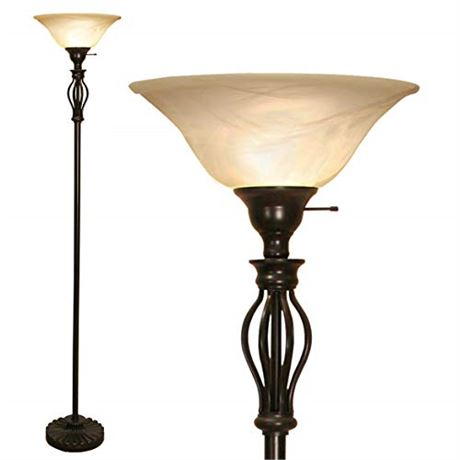 Floor Lamp For Living Room Decor By Light Accents - Tall Floor Lamp Bed Room De