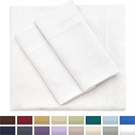 Cosy House Collection Premium Bamboo Sheets - Deep Pocket Bed Sheet Set - Ultra